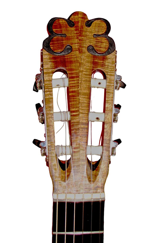 Head Of An EB Guitar