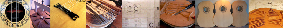 Design of a classical guitar - by Bert Eendebak